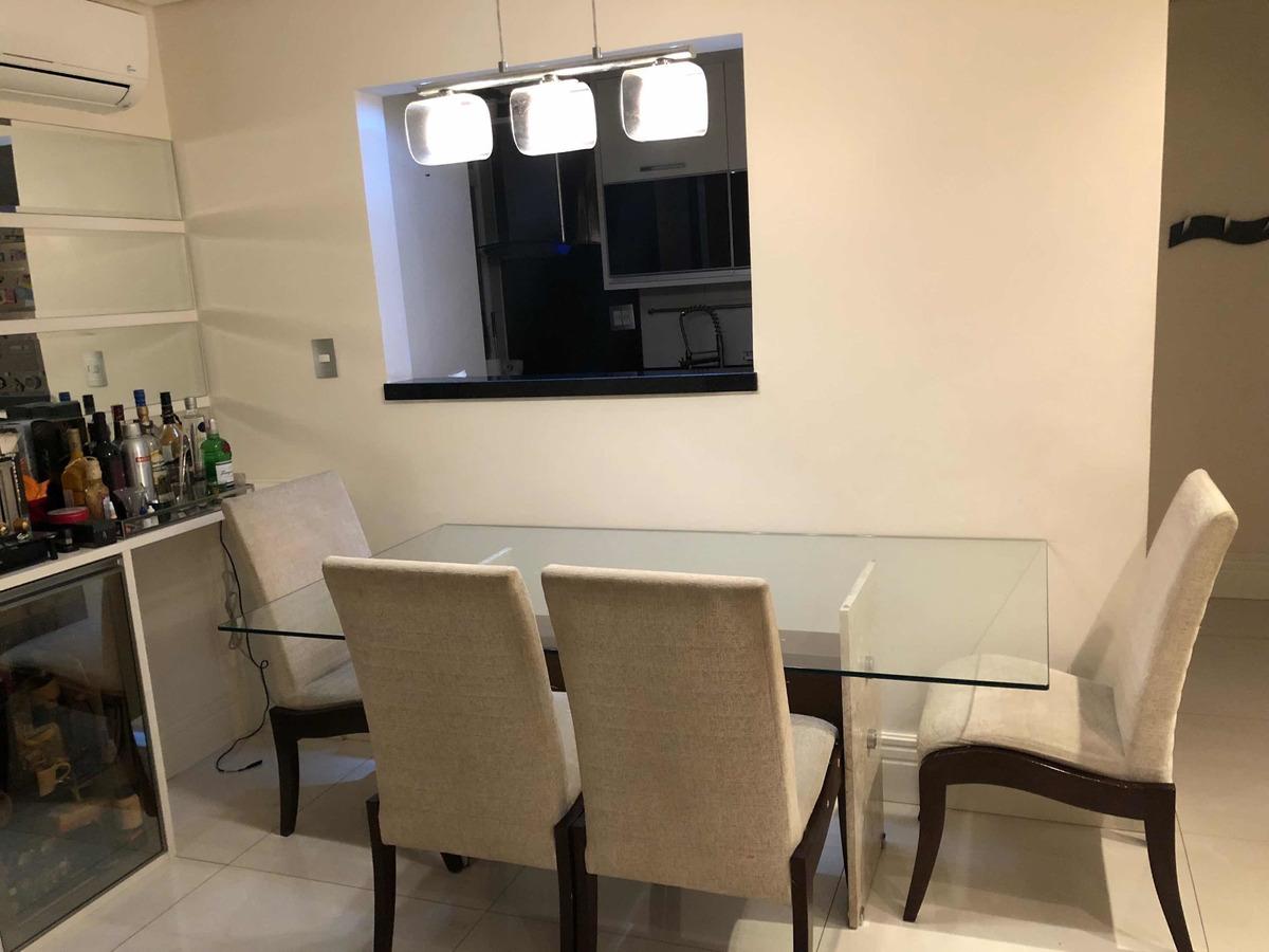 apartamento 82m2, 3 dormitórios 1 suíte jardim zaira