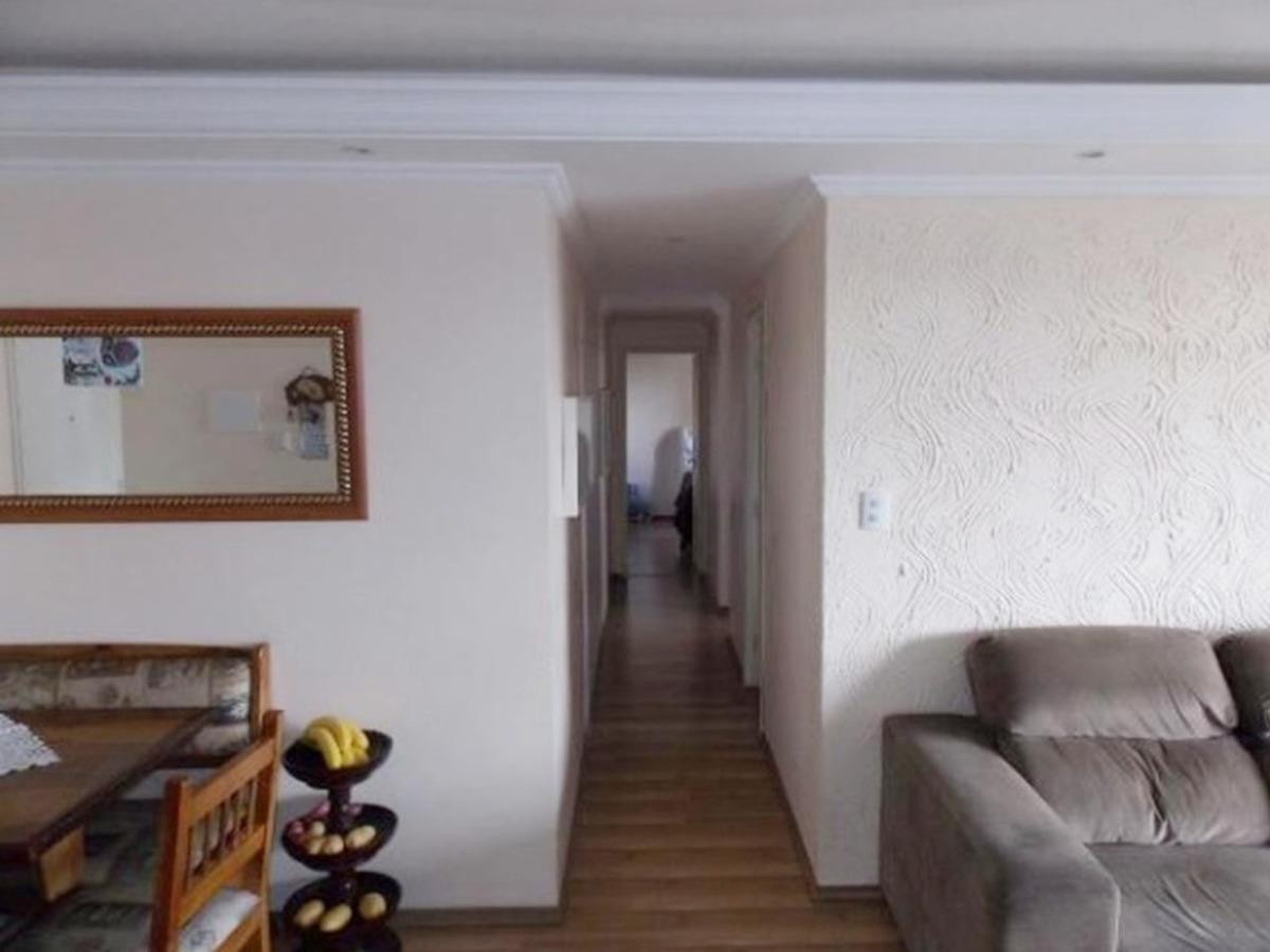 apartamento 83m² 3 dormitórios 1 suite 2 vagas, jd zaira