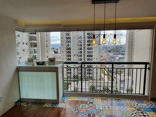 apartamento 86m2 cidade maia - guarulhos