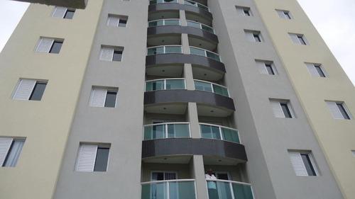 apartamento 93m² de área útil, 3 dormitórios (1 suíte), 2 vagas, edifício orion no bairro campestre em santo andré. - ap1209