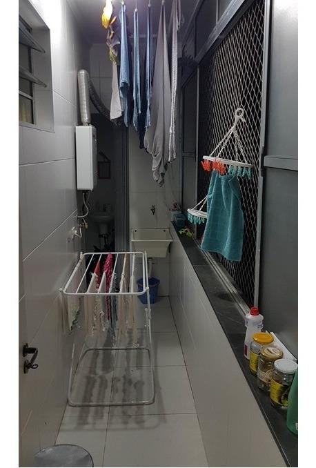 apartamento 94mts, 2 dorm, sala, cozinha, área de serviço