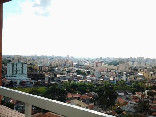apartamento 98m², 3 dormitórios, 2 vagas, campestre, santo andré. - ap0905