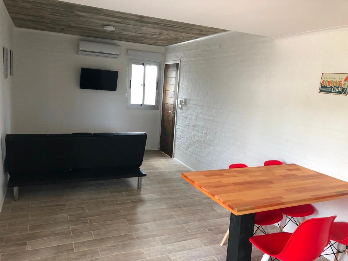 apartamento a 80 mts de la playa - ideal 3 personas