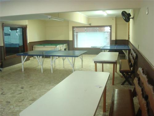 apartamento a beira mar, 3 dormitórios, suíte, sacada, mobiliado, lazer, vaga, cidade ocian, praia grande. - ap1016