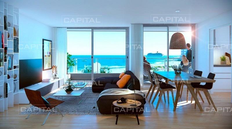 apartamento a estrenar en venta. a pasos de playa brava, punta del este-ref:28903
