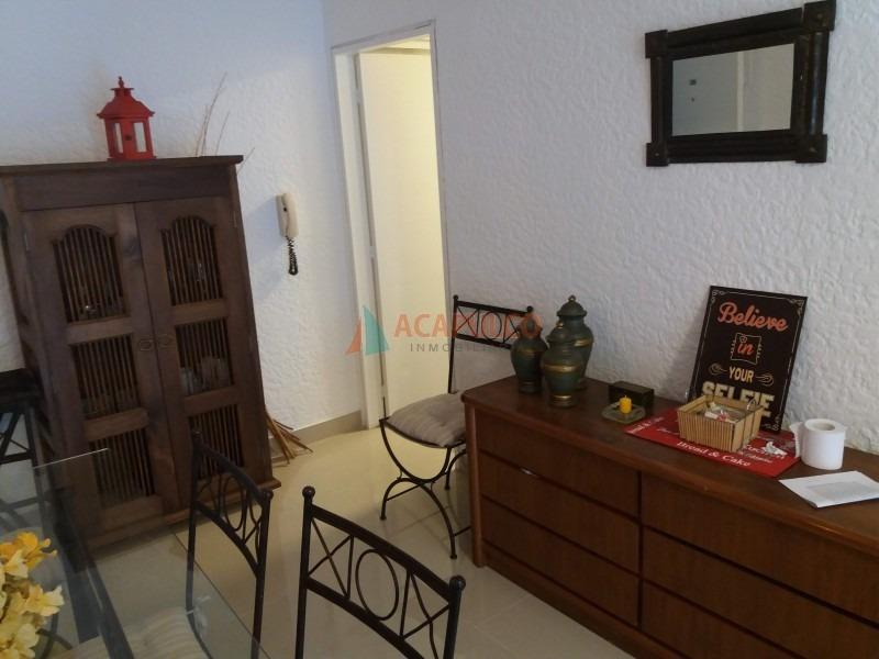 apartamento a la venta en mansa, 1 dormitorios *-ref:1578
