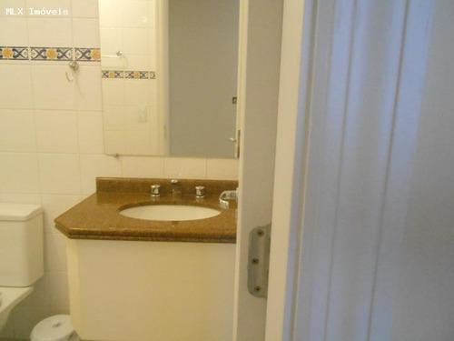 apartamento a locação em mogi das cruzes, parque monte libano, 1 dormitório, 1 banheiro, 1 vaga - 411