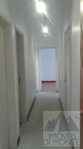 apartamento a locação em são paulo, santa cecília, 3 dormitórios, 1 suíte, 3 banheiros, 2 vagas - 614
