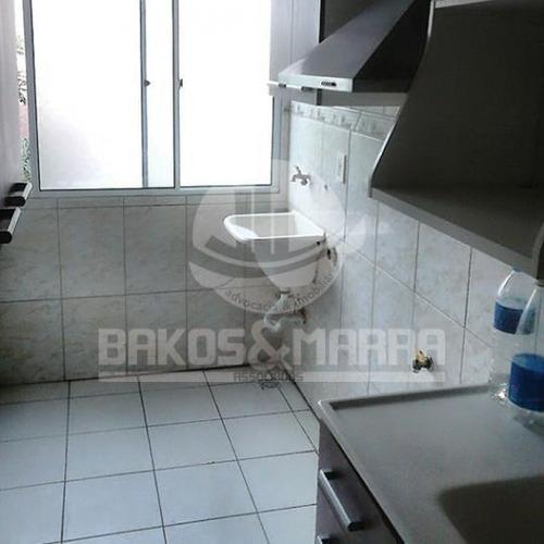 apartamento a locação em são paulo, vila guedes, 3 dormitórios, 1 vaga - 621850