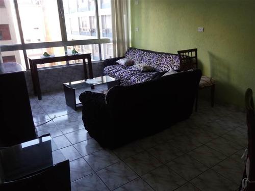 apartamento a uma quadra da praia do itararé, 2 dormitórios, 1 suíte, 96 m² - ap1150