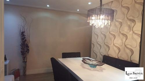 apartamento a venda 69m² 3 dormitórios no centro de itaquera - ap00094 - 33913982
