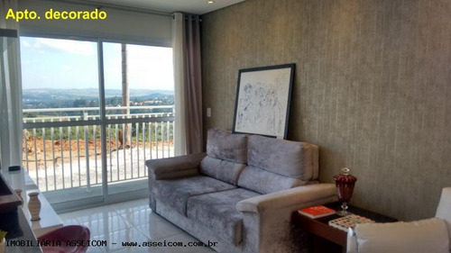 apartamento a venda em atibaia, belvedere, 1 dormitório, 1 banheiro, 1 vaga - 284