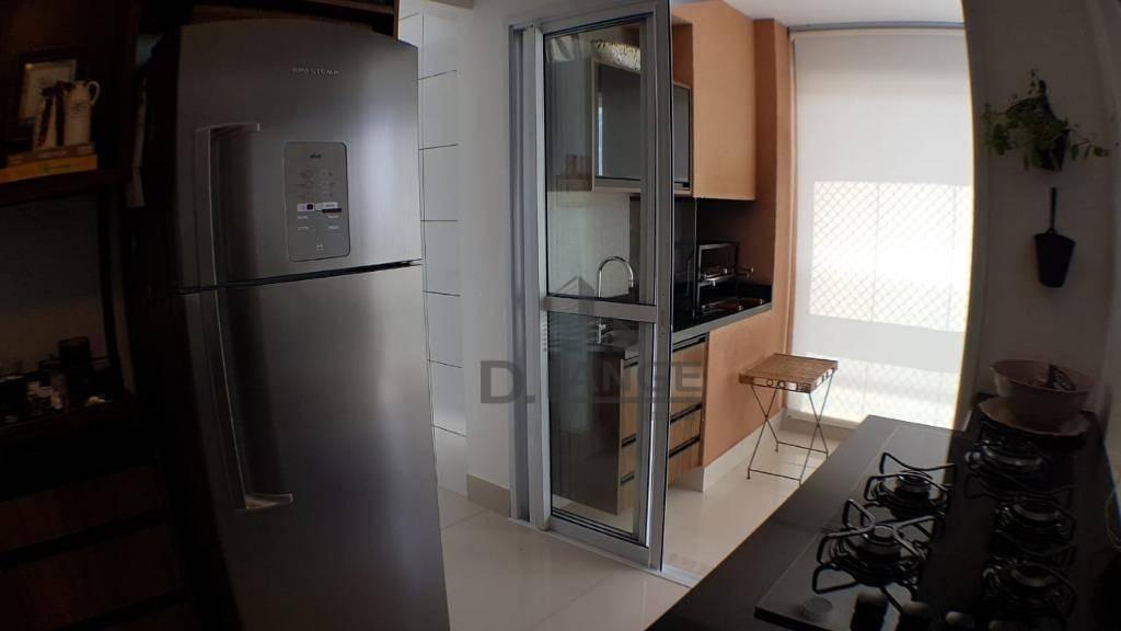 apartamento a venda em campinas, projeto de arquiteto renomado, 3 suítes, 2 vagas. - ap18046