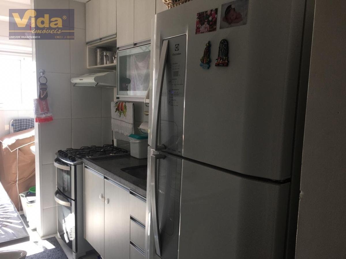 apartamento a venda  em km 18  -  osasco - 42290