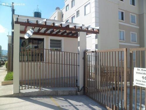 apartamento a venda em mogi das cruzes, alto do ipiranga, 2 dormitórios, 1 banheiro, 1 vaga - 989