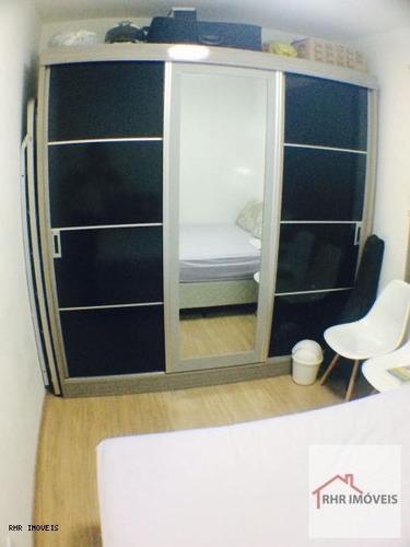 apartamento a venda em mogi das cruzes, bras cubas, 2 dormitórios, 2 banheiros, 1 vaga - 126