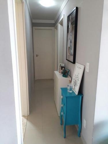 apartamento a venda em mogi das cruzes, centro, 2 dormitórios, 1 banheiro, 1 vaga - 204