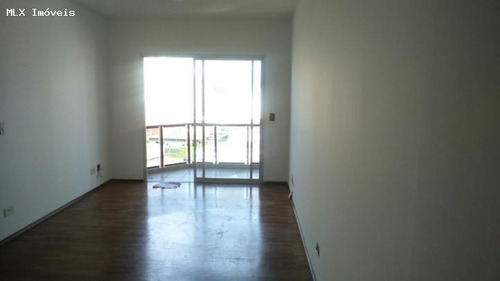apartamento a venda em mogi das cruzes, centro, 3 dormitórios, 1 suíte, 3 banheiros, 2 vagas - 1071