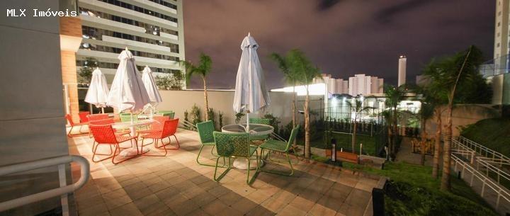 apartamento a venda em mogi das cruzes, centro civico, 2 dormitórios, 1 suíte, 1 banheiro, 1 vaga - 304