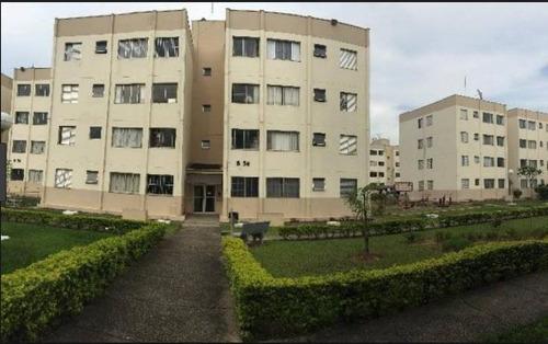 apartamento a venda em mogi das cruzes, cesar de souza, 2 dormitórios, 1 banheiro, 1 vaga - 185