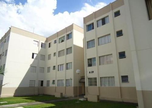 apartamento a venda em mogi das cruzes, cesar de souza, 2 dormitórios, 1 banheiro, 1 vaga - 793