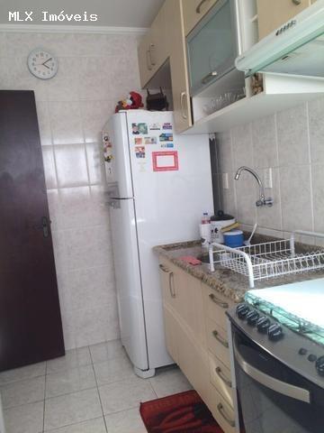 apartamento a venda em mogi das cruzes, cesar de souza, 2 dormitórios, 1 banheiro, 1 vaga - 840