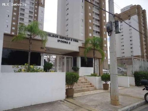 apartamento a venda em mogi das cruzes, cesar de souza, 2 dormitórios, 2 suítes, 3 banheiros, 2 vagas - 1138