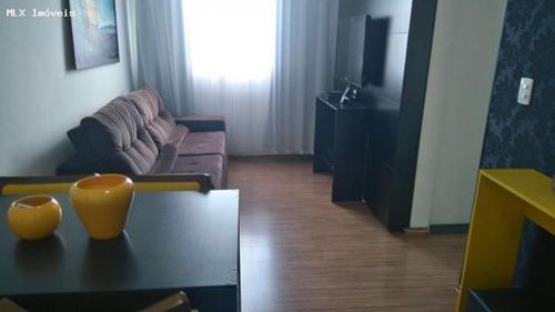 apartamento a venda em mogi das cruzes, cézar de souza, 2 dormitórios, 1 banheiro, 1 vaga - 1246