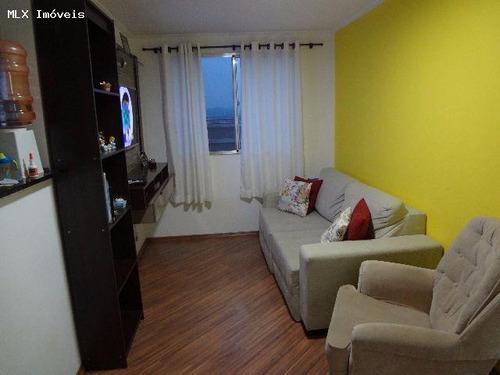 apartamento a venda em mogi das cruzes, conjunto do bosque, 2 dormitórios, 1 banheiro, 1 vaga - 936