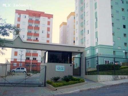 apartamento a venda em mogi das cruzes, jardim marica, 3 dormitórios, 1 banheiro, 2 vagas - 844