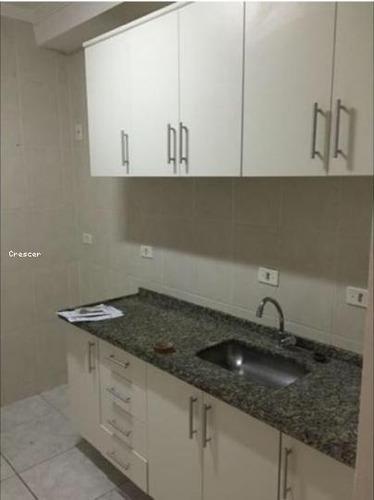 apartamento a venda em mogi das cruzes, jardim são pedro, 3 dormitórios, 1 suíte, 2 banheiros, 1 vaga - ap014