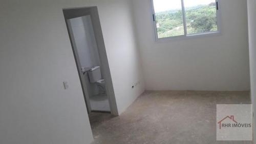 apartamento a venda em mogi das cruzes, jundiapeba, 2 dormitórios, 1 banheiro, 1 vaga - 083