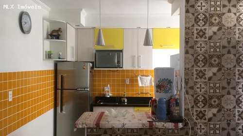 apartamento a venda em mogi das cruzes, jundiapeba, 2 dormitórios, 1 banheiro, 1 vaga - 1078