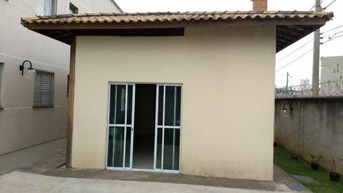 apartamento a venda em mogi das cruzes, jundiapeba, 2 dormitórios, 1 banheiro, 1 vaga - ap083