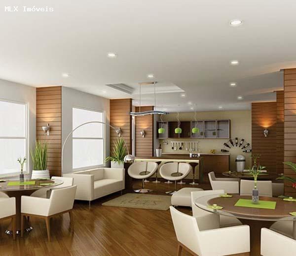 apartamento a venda em mogi das cruzes, loteamento mogilar, 3 dormitórios, 1 suíte, 3 banheiros, 2 vagas - 1263