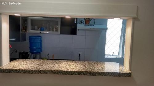 apartamento a venda em mogi das cruzes, mogi moderno, 2 dormitórios, 1 banheiro, 1 vaga - 1206