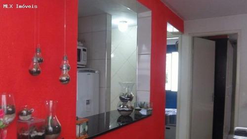 apartamento a venda em mogi das cruzes, mogi moderno, 2 dormitórios, 1 banheiro, 1 vaga - 786