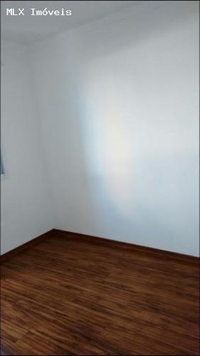 apartamento a venda em mogi das cruzes, nova mogilar, 2 dormitórios, 1 banheiro, 1 vaga - 723