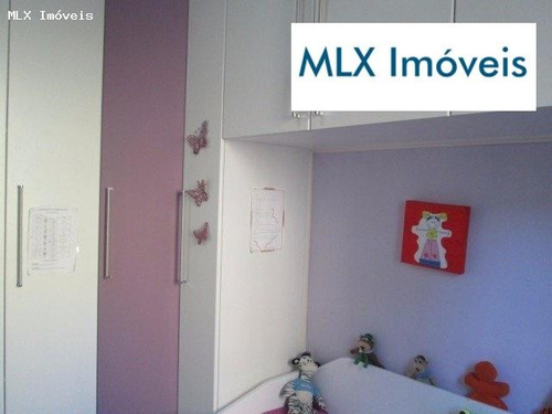 apartamento a venda em mogi das cruzes, nova socorro, 3 dormitórios, 1 suíte, 2 banheiros, 1 vaga - 487