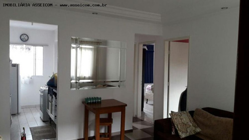 apartamento a venda em mogi das cruzes, parque santana, 2 dormitórios, 1 banheiro, 1 vaga - 406