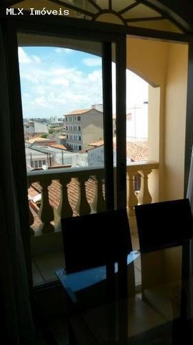 apartamento a venda em mogi das cruzes, vila mogilar, 2 dormitórios, 1 banheiro, 1 vaga - 940