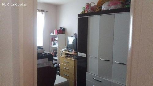apartamento a venda em mogi das cruzes, vila nova aparecida, 2 dormitórios, 1 banheiro, 1 vaga - 1100