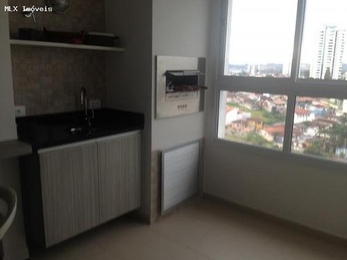 apartamento a venda em mogi das cruzes, vila oliveira, 1 dormitório, 1 suíte, 1 banheiro, 1 vaga - 663