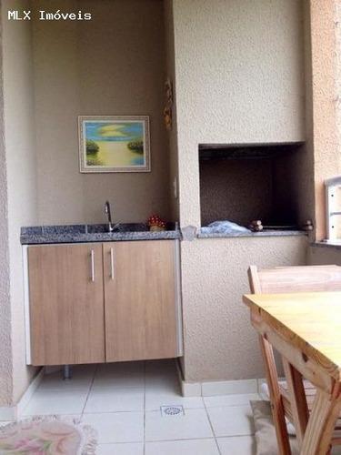 apartamento a venda em mogi das cruzes, vila oliveira, 3 dormitórios, 1 suíte, 2 banheiros, 2 vagas - 1139