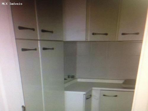 apartamento a venda em mogi das cruzes, vila oliveira, 3 dormitórios, 1 suíte, 2 banheiros, 2 vagas - 740