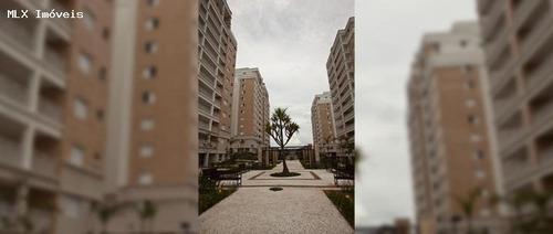 apartamento a venda em mogi das cruzes, vila oliveira, 3 dormitórios, 3 suítes, 2 banheiros, 2 vagas - 132