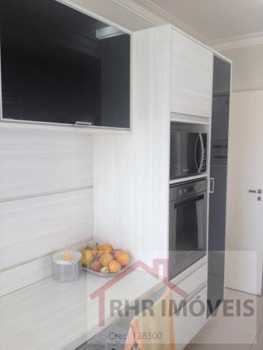 apartamento a venda em mogi das cruzes, vila oliveira, 4 dormitórios, 2 suítes, 5 banheiros, 2 vagas - 067