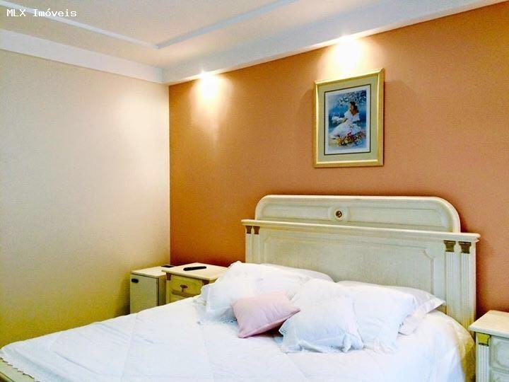 apartamento a venda em mogi das cruzes, vila oliveira, 4 dormitórios, 4 suítes, 6 banheiros, 4 vagas - 1302