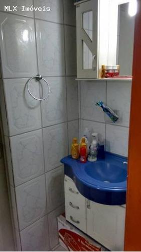 apartamento a venda em mogi das cruzes, vila santista, 2 dormitórios, 1 banheiro, 1 vaga - 1032