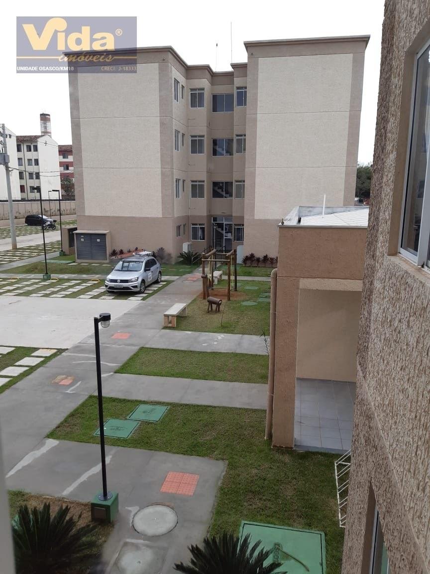 apartamento  a venda em parque santa rosa  -  suzano - 42048